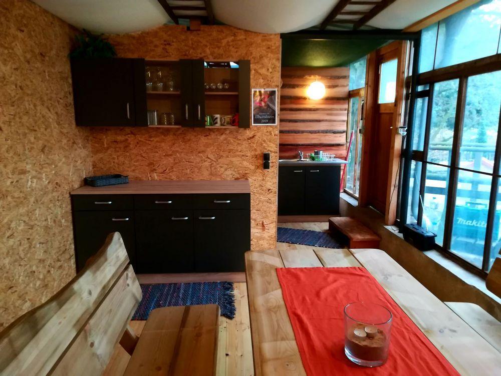 Küche zum Schäferwagen